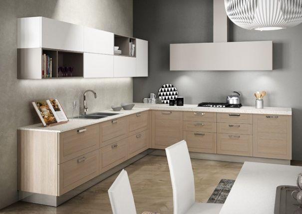 cocina moderna de madera en l berloni