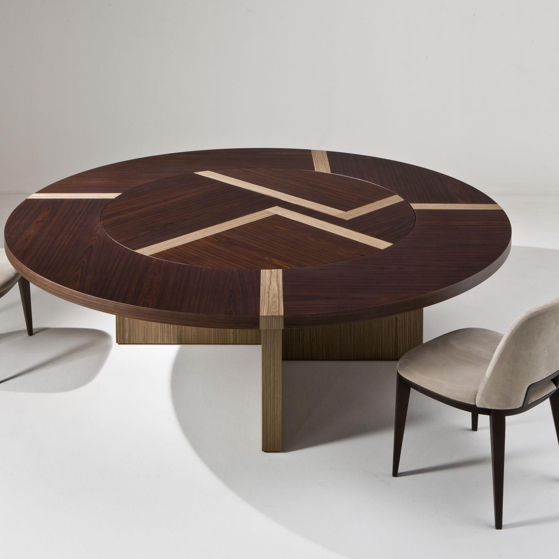 Mesa moderna / de madera / redonda / para oficina - BD 07 T by ...