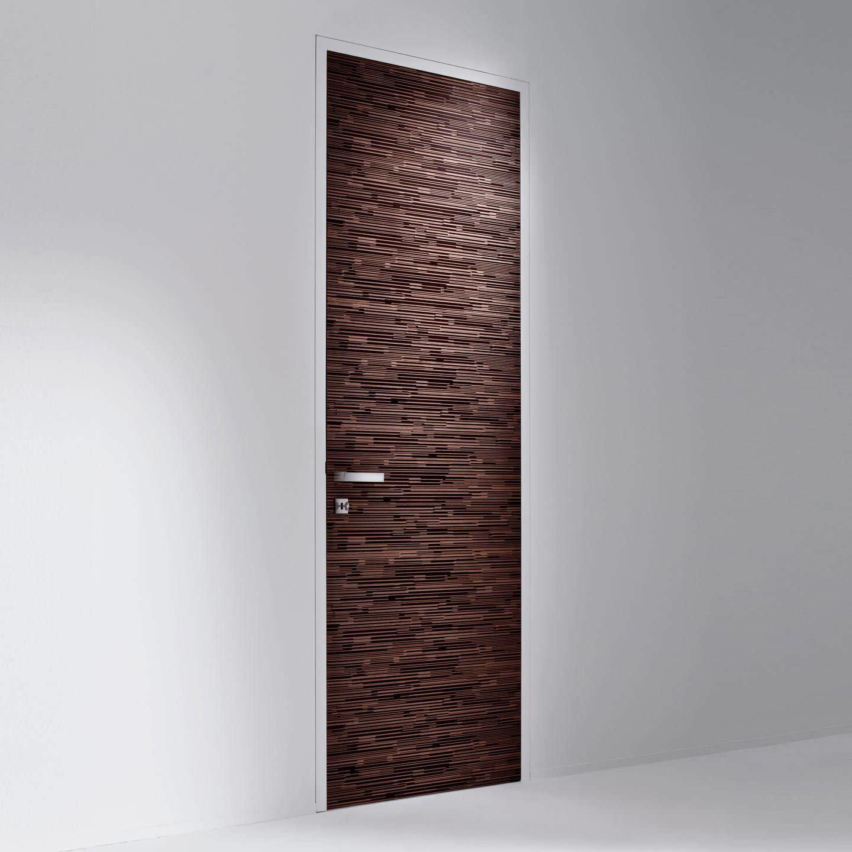 Puerta de interior / abatible / de madera / a ras - SLIM : BD 66 by ...