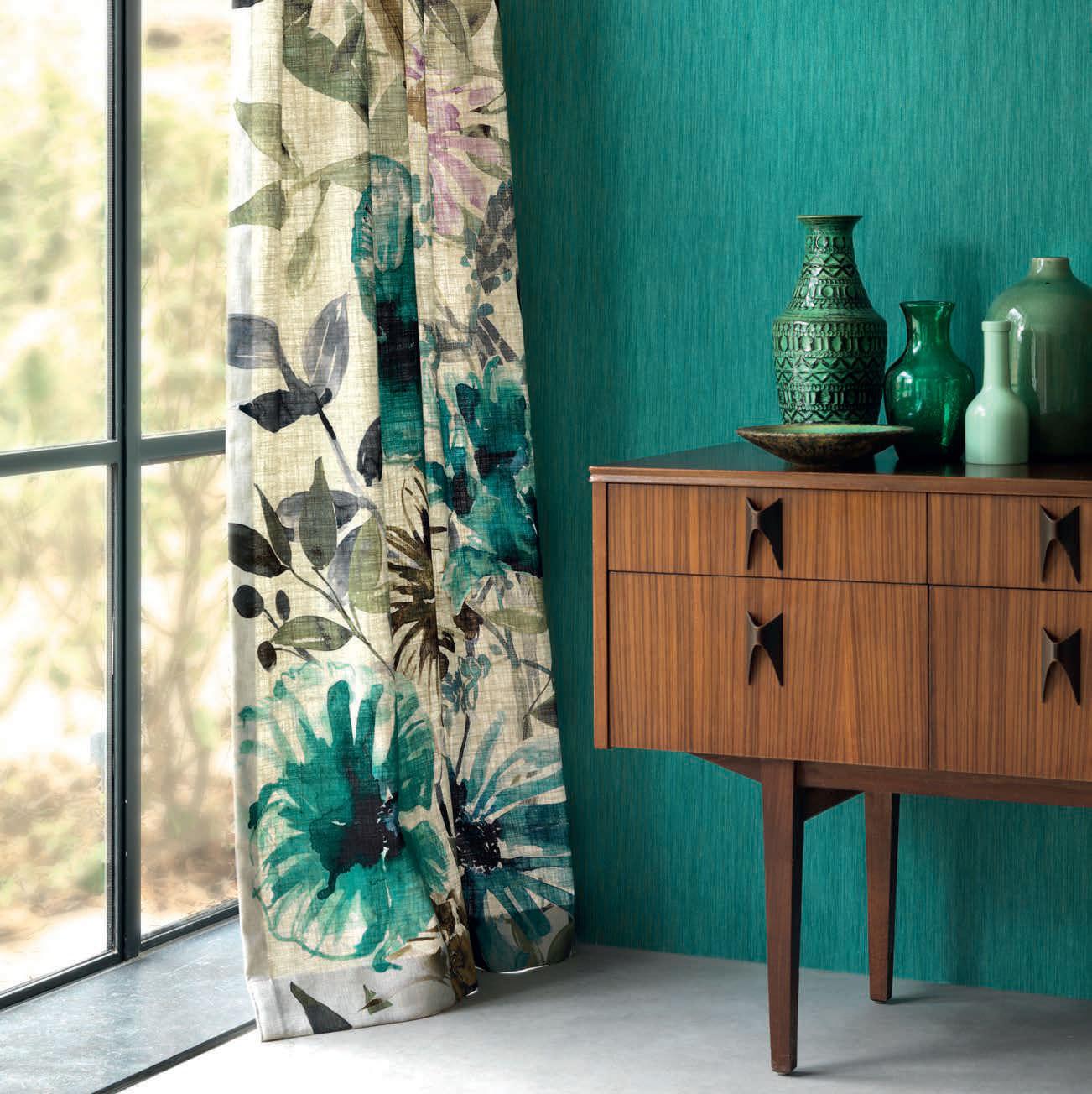 Tela para cortinas / de tapicería / con motivos animales / a