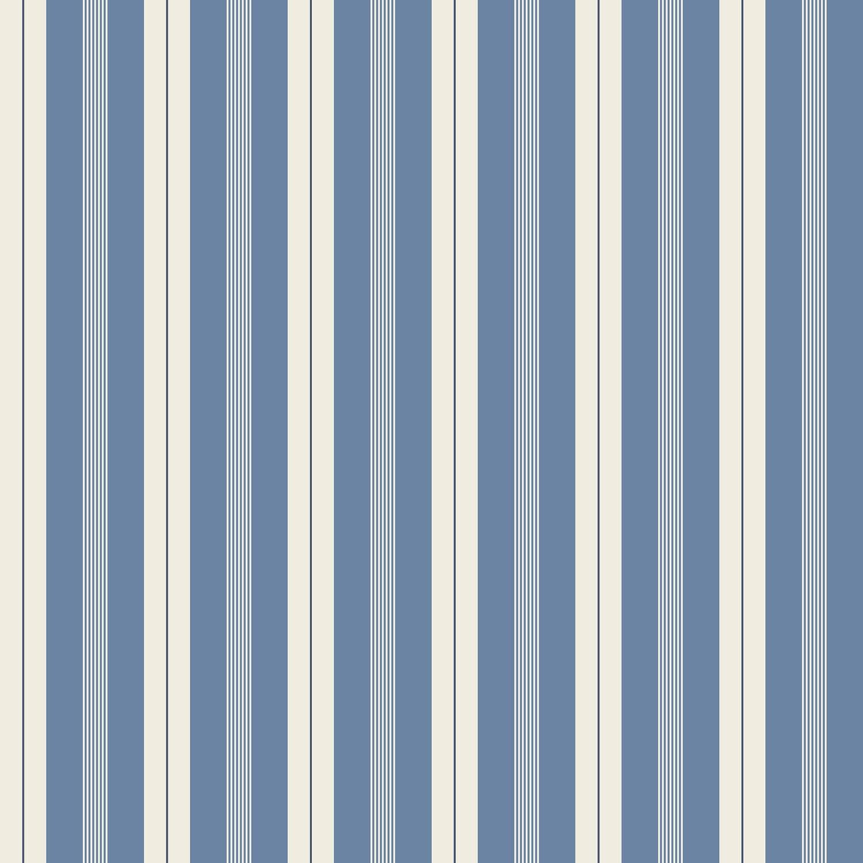 86e796e3198 Papel pintado moderno / de rayas / azul / sin tejer - KRISTINA by ...