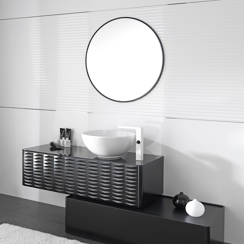 Mueble de baño moderno / mdf / con cajón / de pared   lounge ...