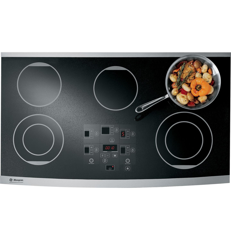 Placa de cocina eléctrica / vitrocerámica radiante - ZEU36RSFSS ...