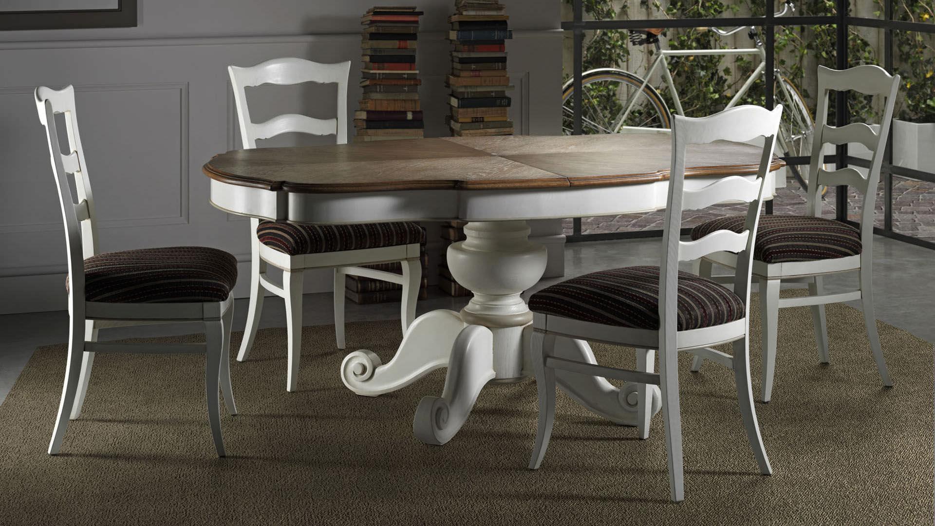 Mesa de comedor clásica / de madera / extensible - SAN CLEMENTE - L ...