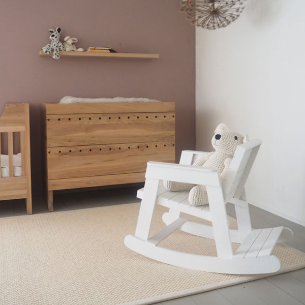 Silla moderna / para niños / mecedor / de madera - TOUTER - Pilat ...