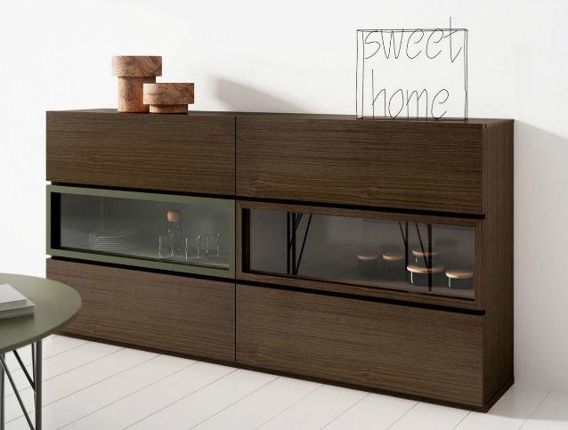 Aparador moderno / de madera - DELTA by Josep Turell - Arlex