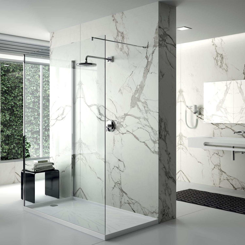 Plato de ducha rectangular / de material compuesto - FRECCIA - Cosentino
