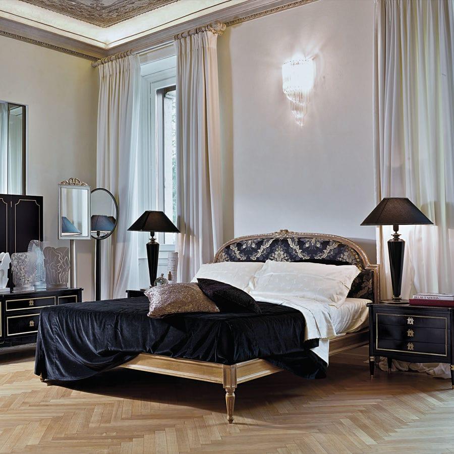 Cama estándar / de matrimonio / de estilo Luis XVI / con cabecero ...