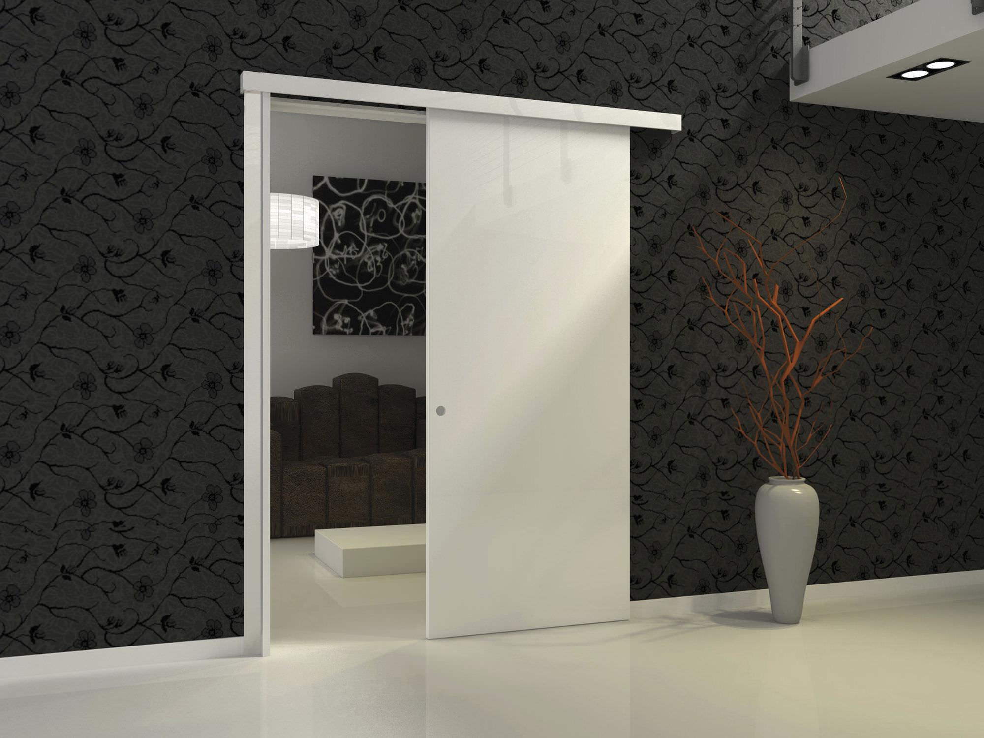 Sistema Corredizo Oculto Para Puerta Corredera Woody Protek ~ Puertas Correderas De Madera Sin Obra