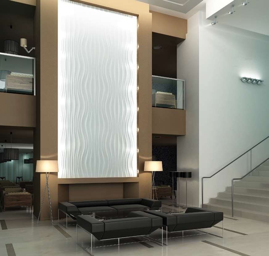 panel decorativo de yeso de pared d monroe