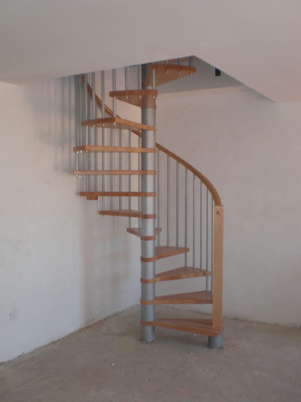 Escalera Caracol De Madera Simple Escaleras Caracol Con Madera  ~ Precios De Escaleras De Caracol