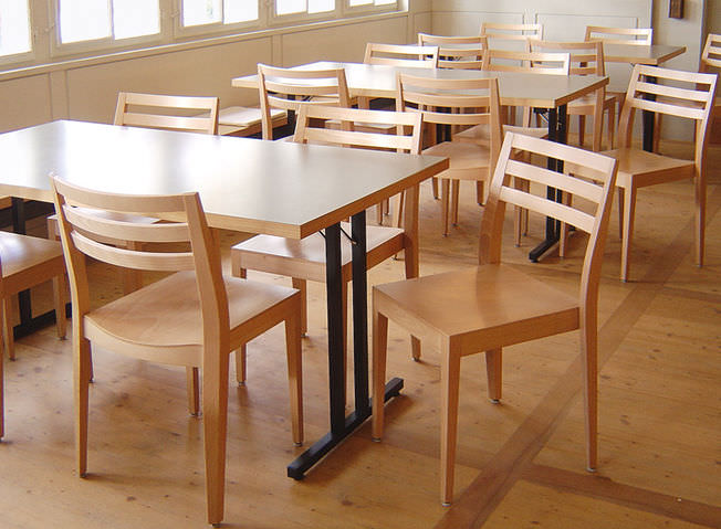 Sillas Para Restaurante Amazing Silla De Madera Cnc Cafe With