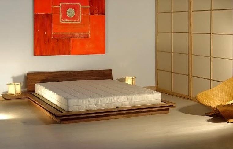 Cama estndar de matrimonio moderna de madera TOKI Cinius