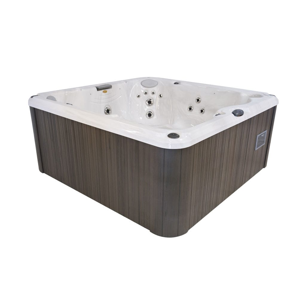 spa sobre suelo cuadrado plazas de exterior j