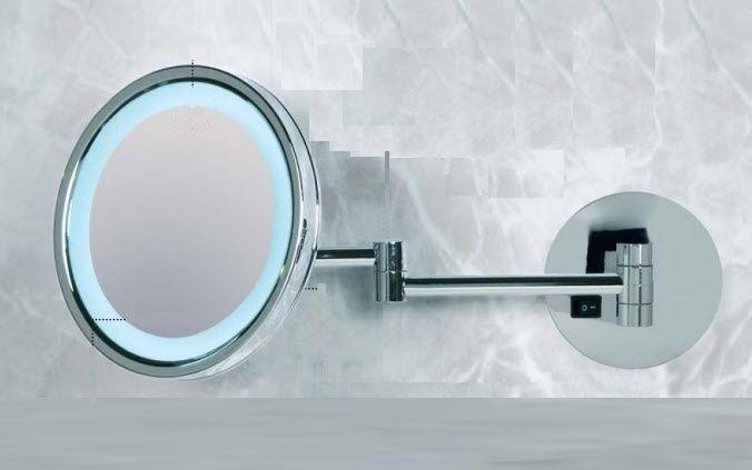 Luces Para Espejos De Baño | Espejo Para Bano De Pared Con Luz De Aumento Moderno Kristal
