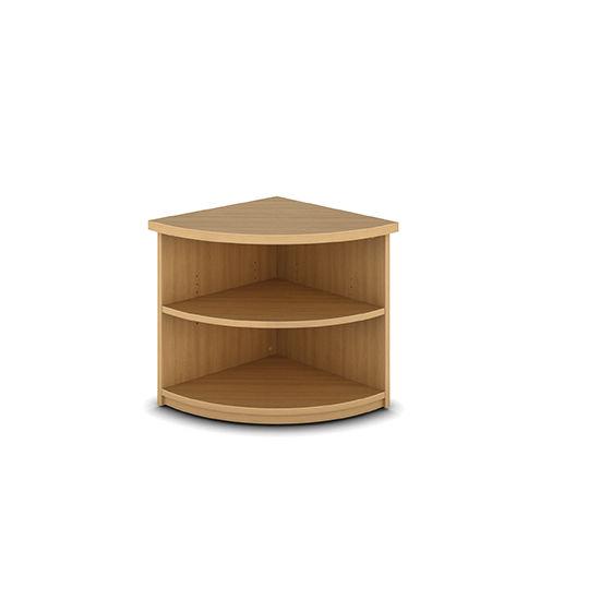 estantera en esquina moderna de madera profesional think smart
