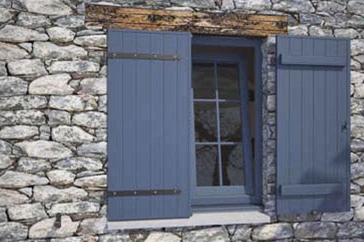 abatibles de lamas de pvc para ventanas kiuzo deceuninck