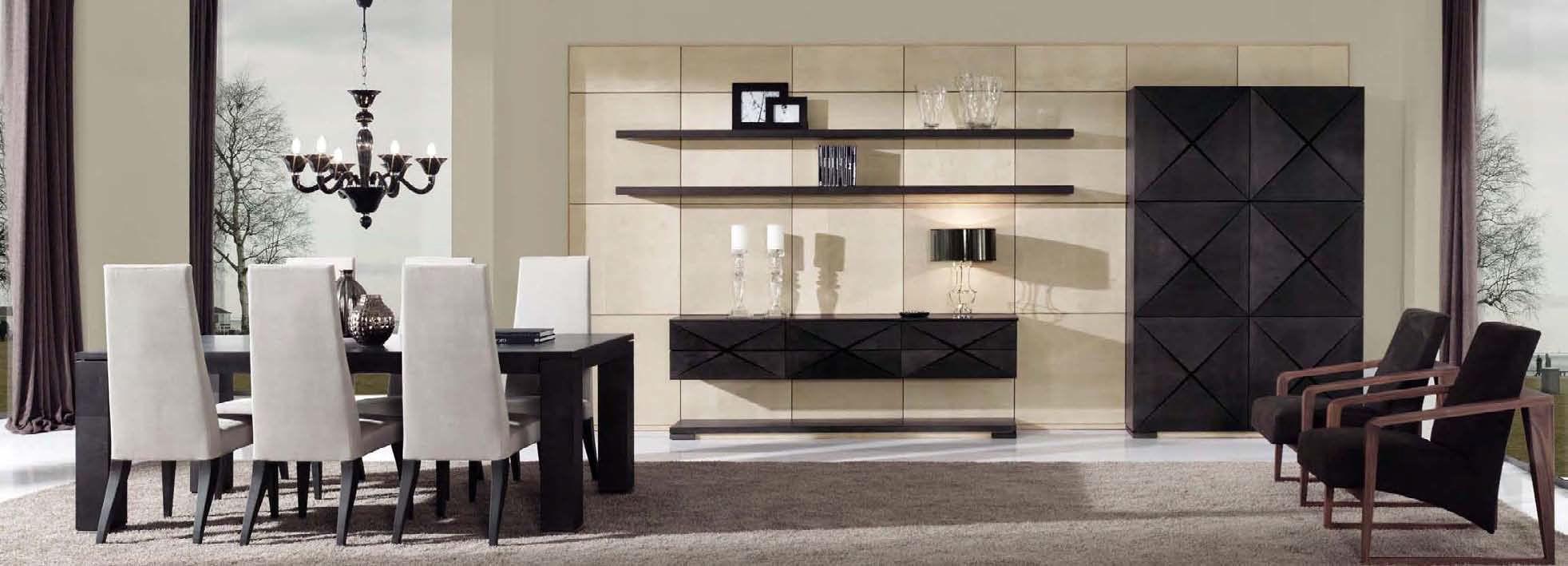 Mueble de salón moderno / de nogal - EROS by Gabriel López - MOBIL ...