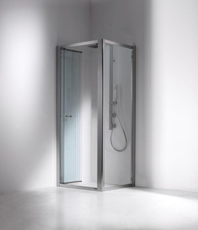 Mampara de ducha plegable / de esquina - VELA: F - Bianchi & Fontana