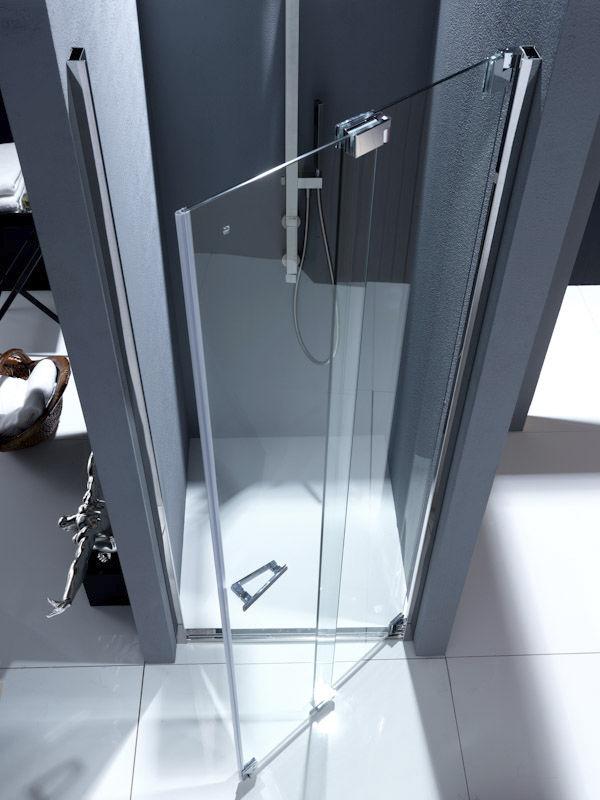 Mampara de ducha plegable / para ducha empotrada - NUBIAN: NS1 ...