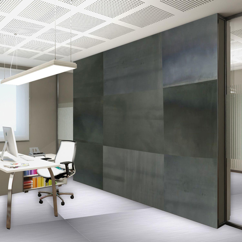 Revestimiento de pared de acero / para uso residencial / liso / para ...