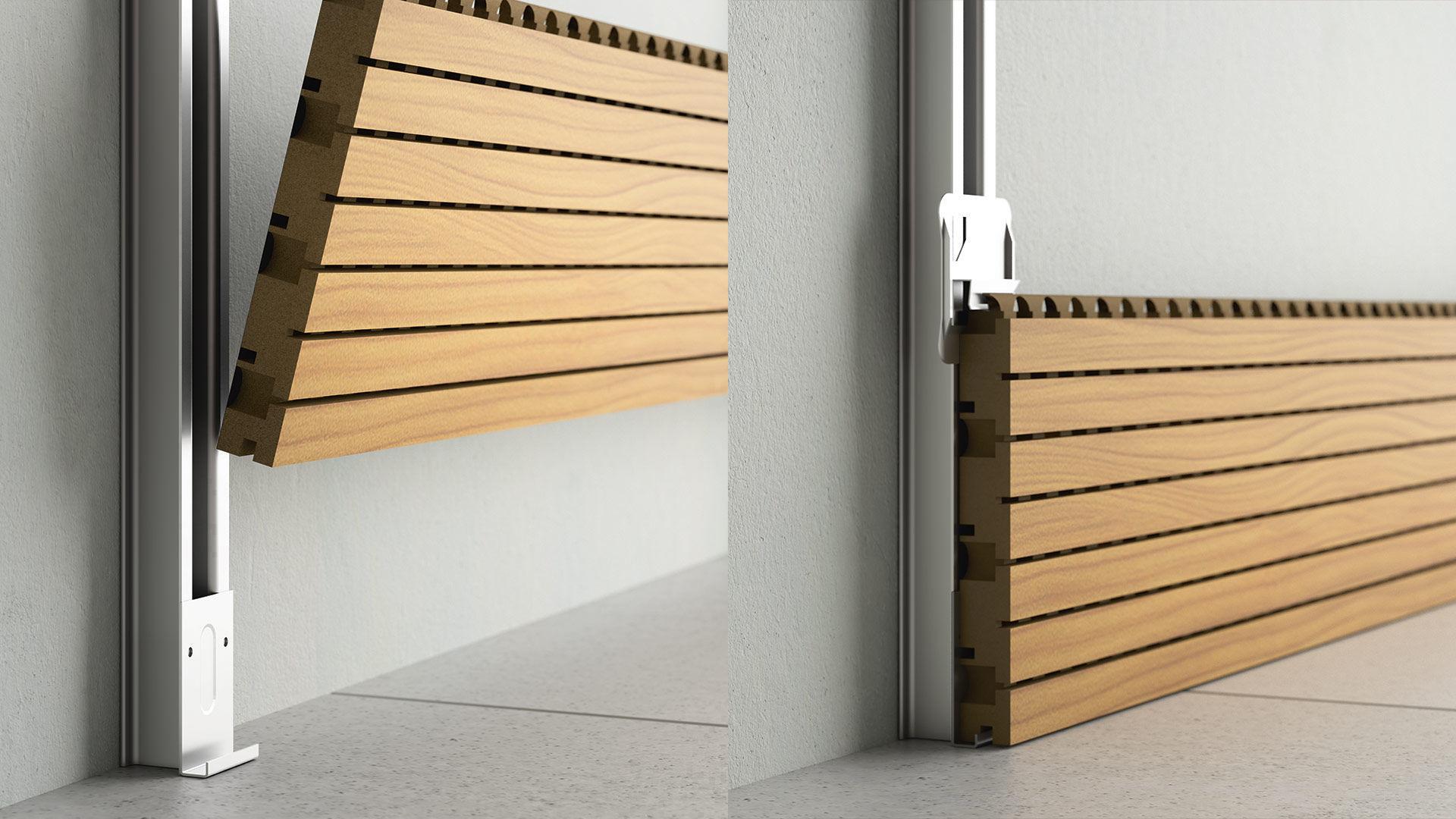 Paneles Madera Interior Materiales De Construcci N Para La  ~ Panelados De Madera Para Paredes