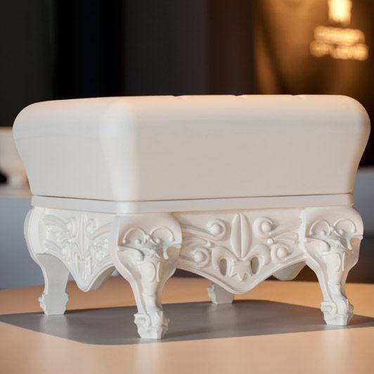 puf de diseo nuevo barroco de polietileno para edificio pblico blanco little prince of love by graziano moro u renato pigatti
