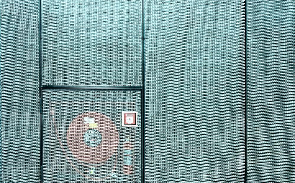 Malla metálica de acero inoxidable / para fachada / para ...