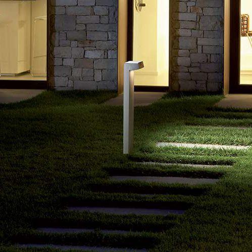 bolardo de iluminacin para jardn moderno de led quantum goccia