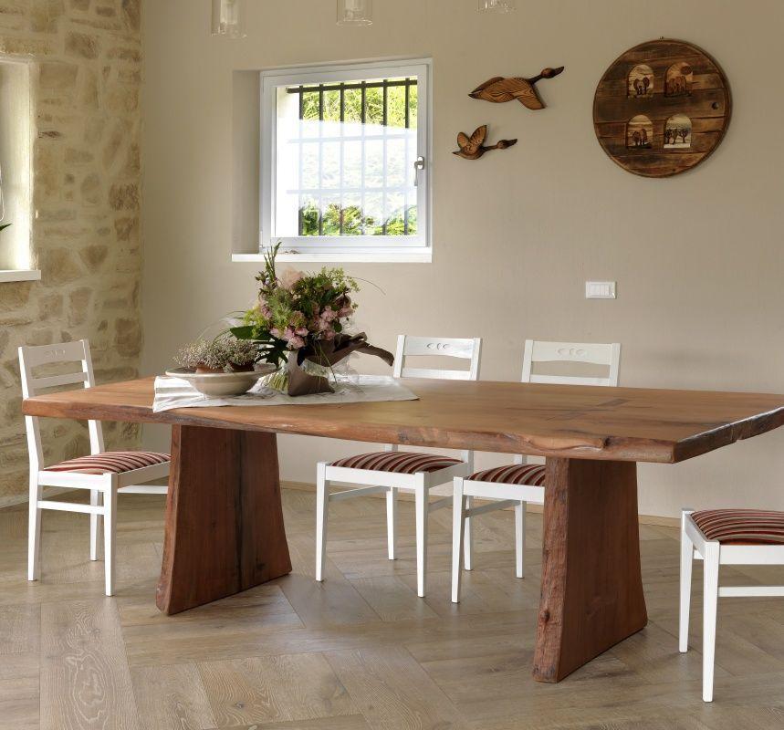 Mesa de comedor de diseño original / de madera / rectangular ...