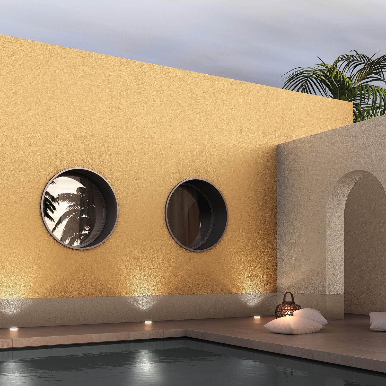 Pintura decorativa / de acabado / para muro / de exterior ...