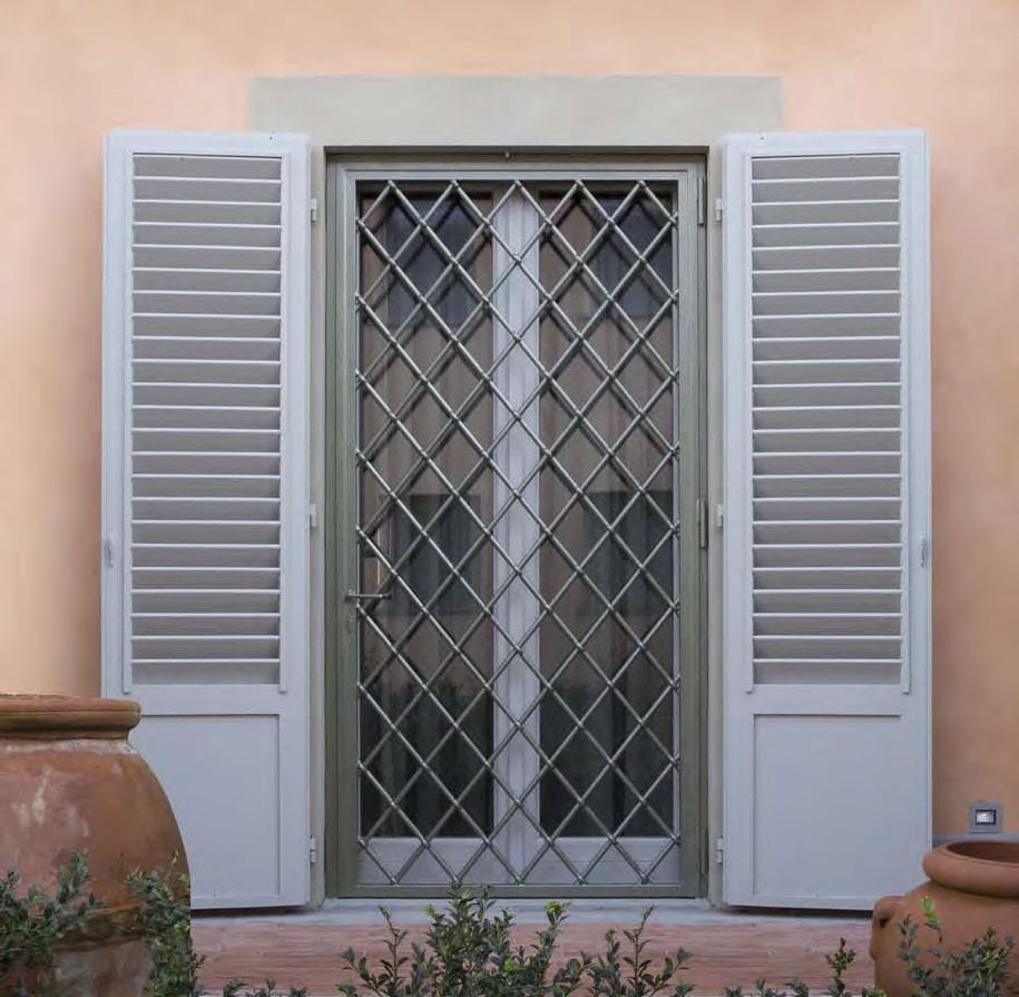 Reja de seguridad amovible / para puerta / para ventana - CIPRIANI ...