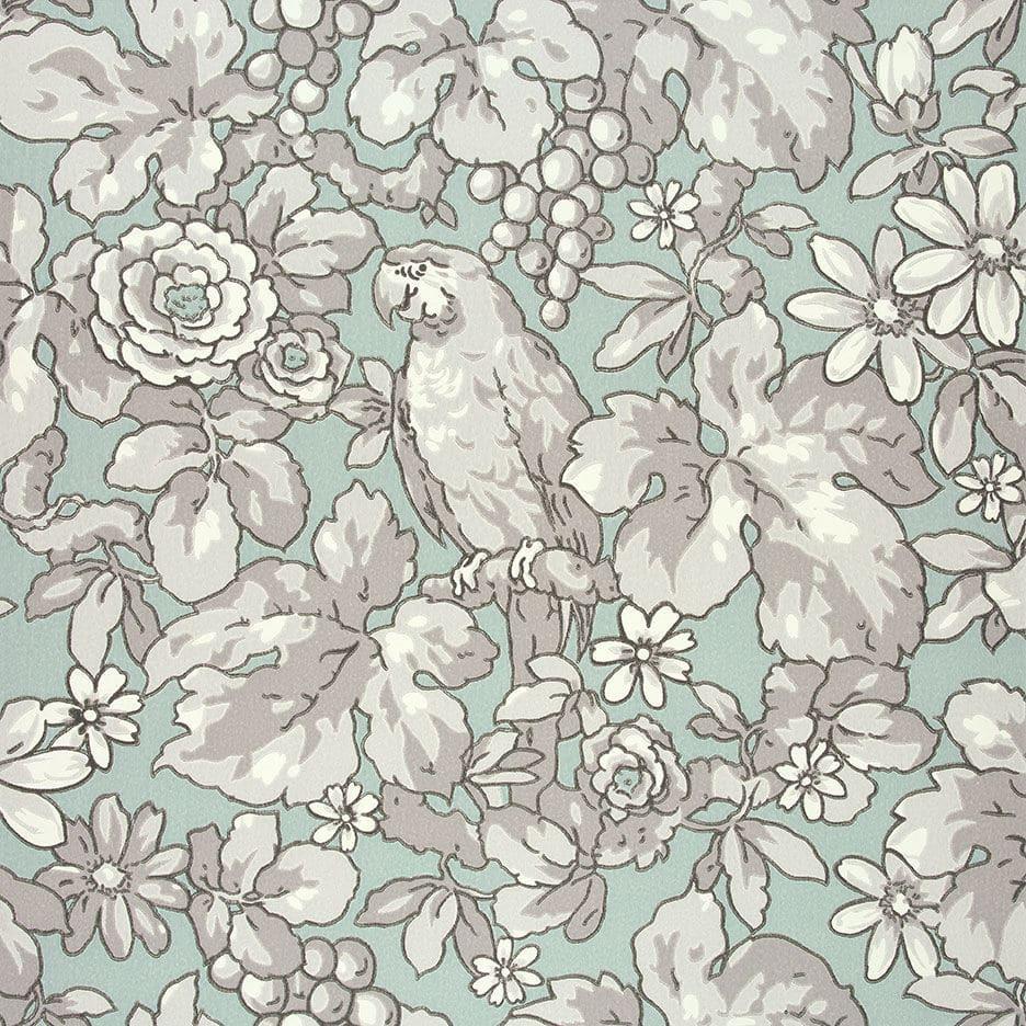 Papel pintado clásico / de flores / sin tejer / impreso - PATRICIA ...