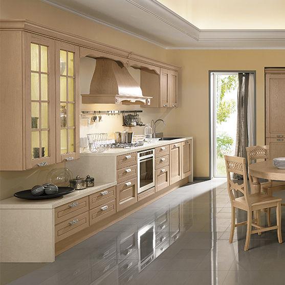 Cocina de estilo / de fresno / con isla / ecológica - IMPERIAL ...