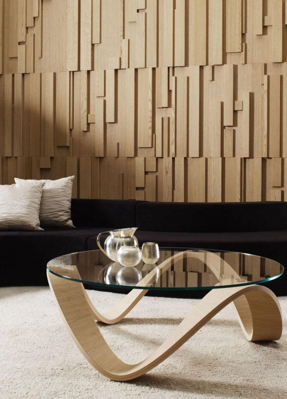 panel decorativo de madera de pared con relieve modular by ferruccio laviani emmemobili