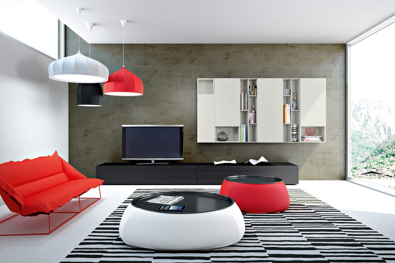 Mueble De Sal N Moderno Life Giellesse Di Galli Luigi  # Giellesse Muebles