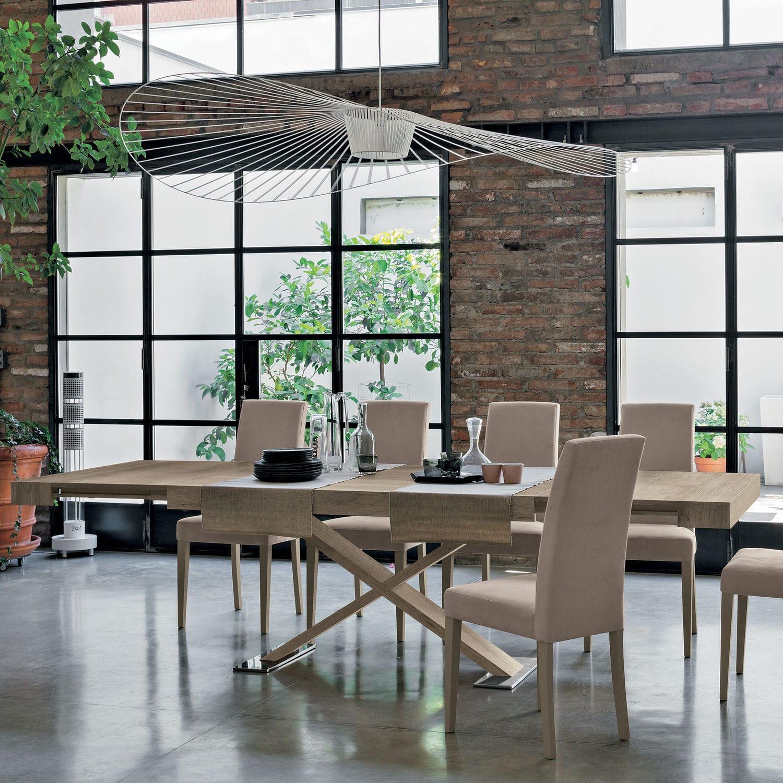 Mesa de comedor de diseño escandinavo / de material laminado ...
