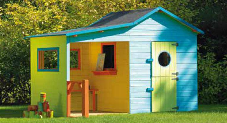 casa de juegos de exterior para jardn hacienda