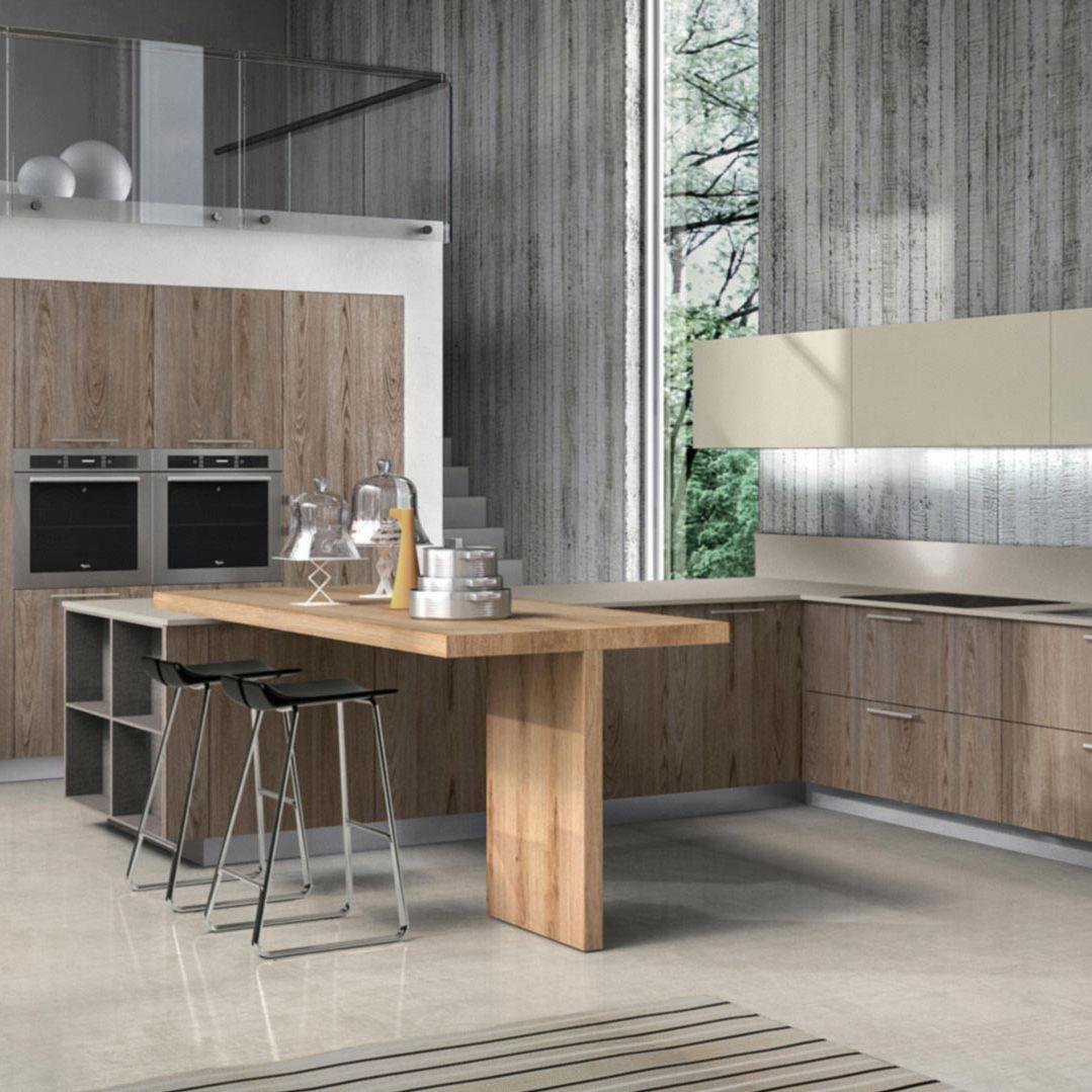 Cocina En U Latest Cocinas With Cocina En U Fabulous Feb Cocina  # Muebles De Cocina Sukalde