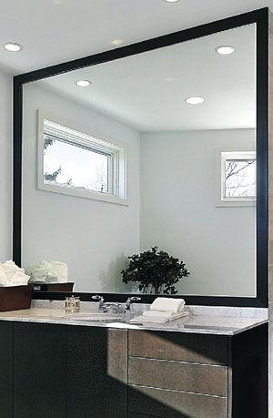 espejo de pared moderno rectangular mirex furukawa corporation