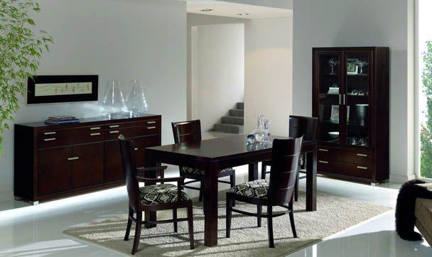 Mesa de comedor / moderna / de madera / rectangular - TERRA - HURTADO