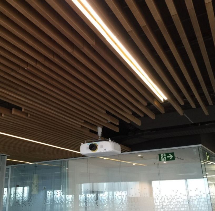falso techo de madera en lminas decorativo 4 30 70 55