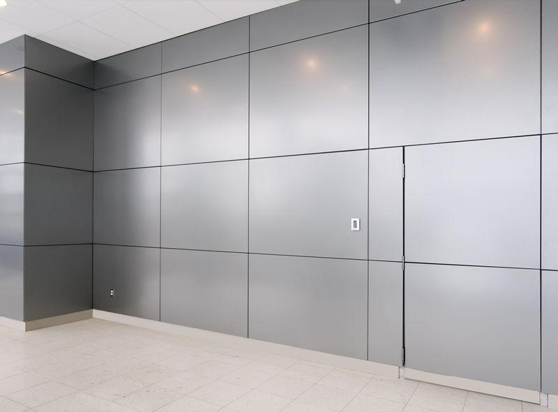 panel decorativo de metal multicapa de pared