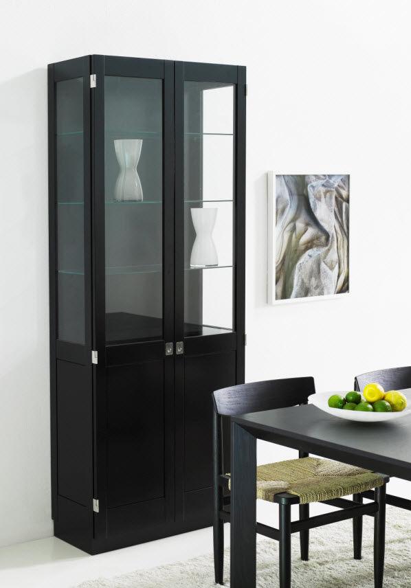 vitrina aparador moderna de fresno de roble ka by gran malmvall