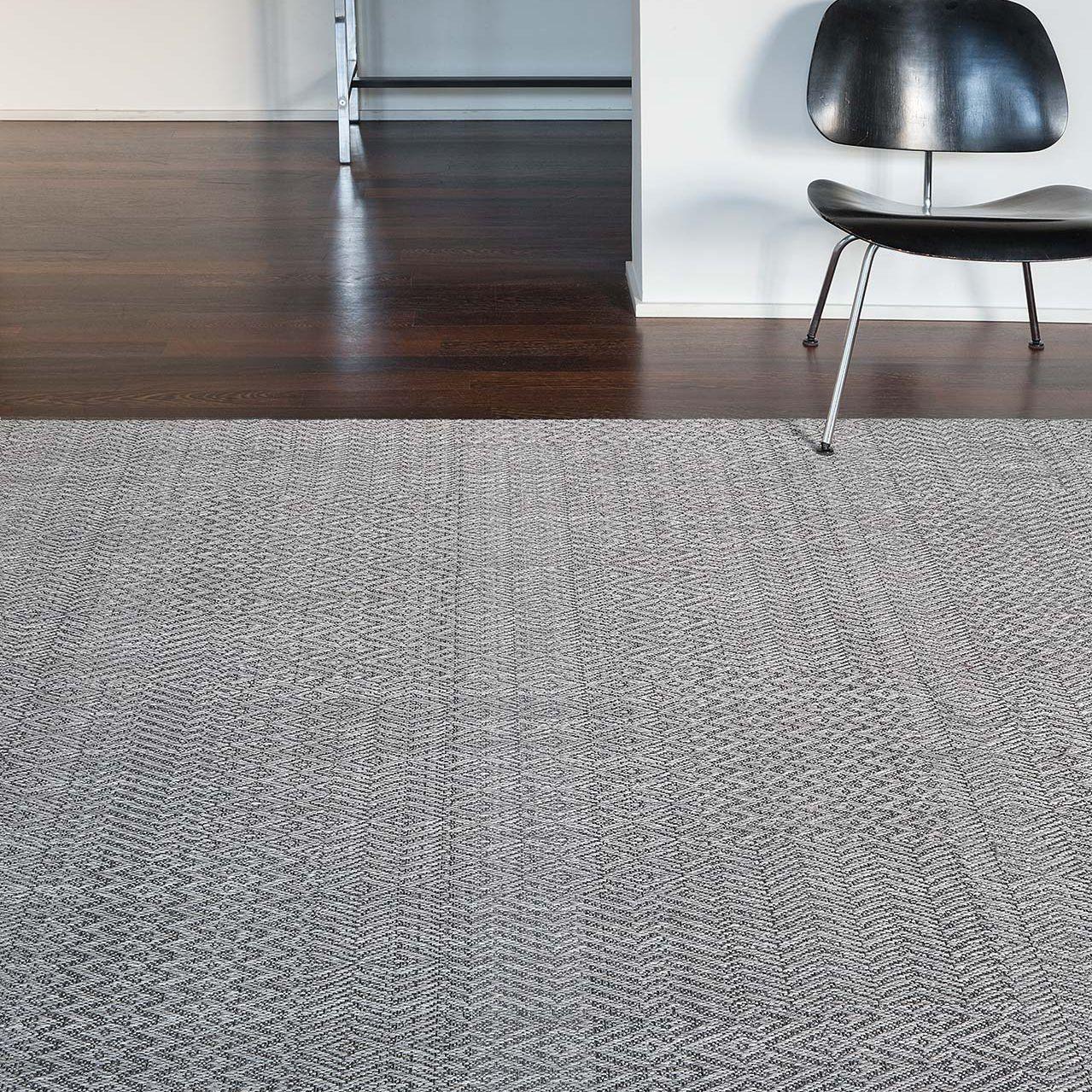 alfombra moderna con motivos de lana de polister fusion