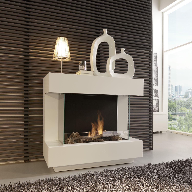 Bioetanol Kamin chimenea de bioetanol moderna hogar abierto central concept