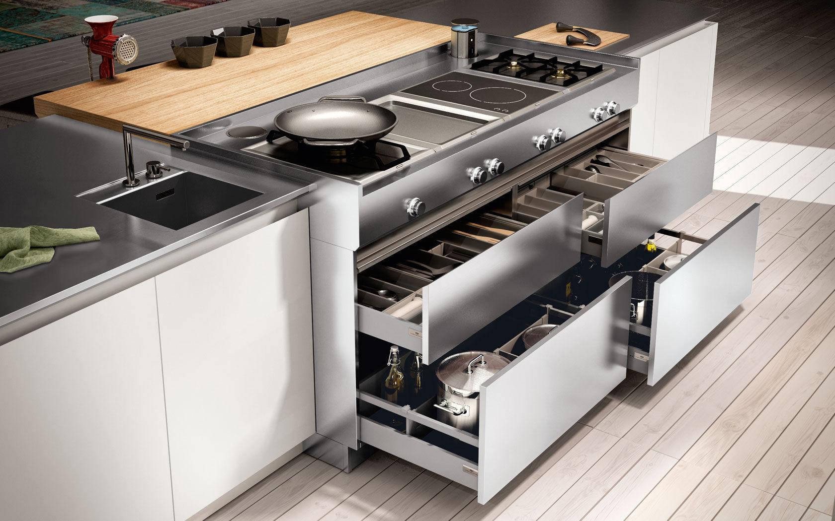 Cajón para cocina - AMBRA - Lineaquattro