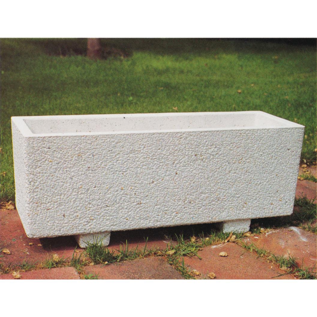 jardinera de hormign rectangular moderna para espacio pblico corintio - Jardineras De Hormigon