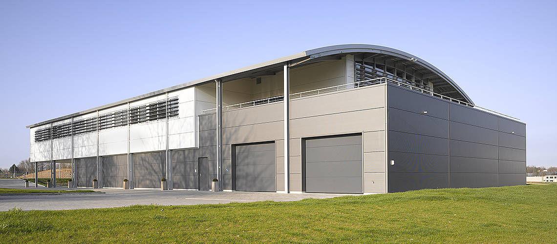 Edificio prefabricado / modular / de acero galvanizado / estructura ...