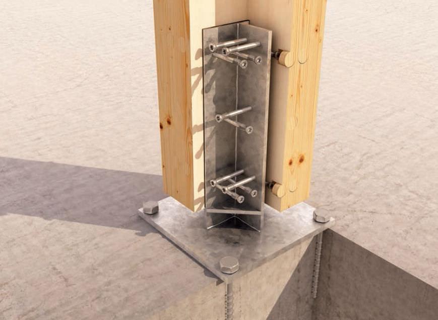 Conector para estructura de madera - WS - ROTHO BLAAS